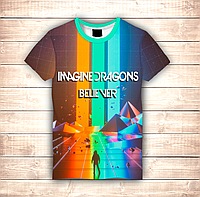 Футболка 3D Imagine Dragons Believer, фото 1