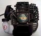 Бензокоса Кедр БГ-6200 Profi 3 ножа + 2 шпули с леской. Мотокоса Кедр, фото 4