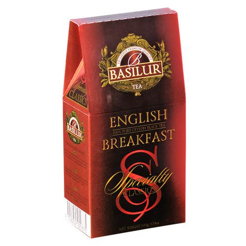 Чай черный Basilur Избранная классика Английский завтрак 100 грамм