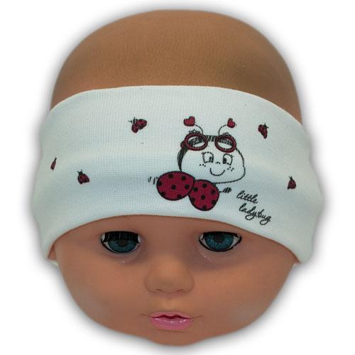 Детская повязка для девочки с принтом