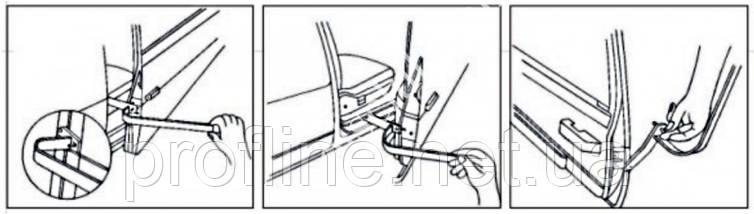 Инструмент для регулировки дверных петель JTC  2556 JTC, фото 2