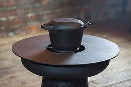 Переходные кольца для установки котелка на барбекю-мангал UNO
