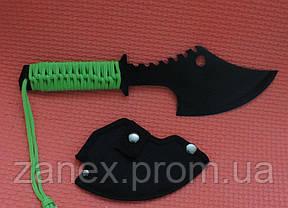 Метательный нож - топор (мачете - томагавк) Гарпия. Топор тактический с паракордом  , фото 2