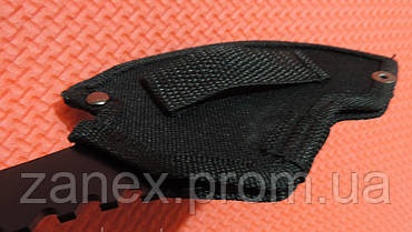 Метательный нож - топор (мачете - томагавк) Гарпия. Топор тактический с паракордом  , фото 3