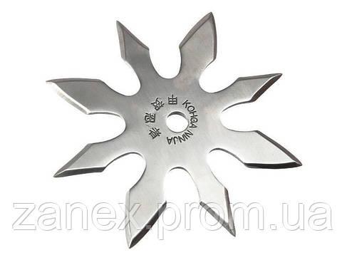 Сюрикен - звезда метательная 8 конечная , фото 2