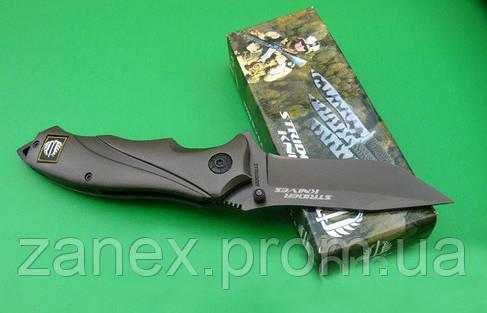 Нож тактический Strider Knives U.S.A. Титановое покрытие. Полуавтомат. , фото 2