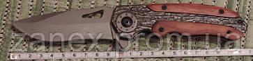 Нож тактический Гербер (Gerber) Bear Grylls - полуавтоматический. Клипса для ношения, копия., фото 3