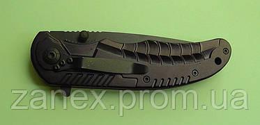 Складной нож полуавтоматический BOKER Стальная змея с зажимом., фото 3