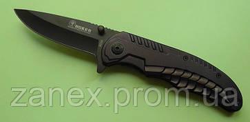Складной нож полуавтоматический BOKER Стальная змея с зажимом., фото 2