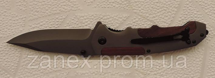 Нож складной Тотемполуавтоматический. Туристический нож титановый тактический выкидной. , фото 2