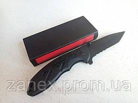 Складной нож с пилкой. Нож для охоты и туризма. , фото 3