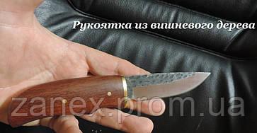 Кованный охотничий нож с кожаным чехлом. Нож Herbertz - Германия., фото 3