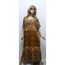 Штапельное платье-кимоно, размер от 50 до 60 Харьков, фото 2