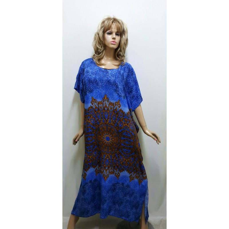 Штапельное платье-кимоно, размер от 50 до 60 Харьков