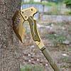 Топор кованый туристический, метательный томагавк. Модель SOG APACHE. Топорик тактический метательный. , фото 2
