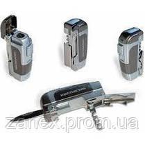 "Нож ""Multifunction"" 4х1 зажигалка - нож, открывалка, штопор., фото 3"