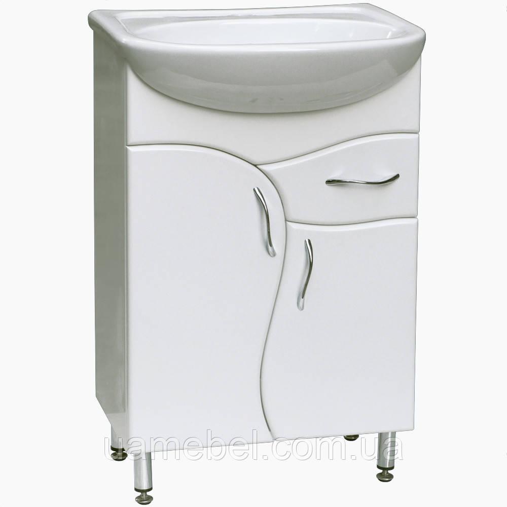 Тумба для ванной Т-4 (под умывальники от 50 до 90 см)