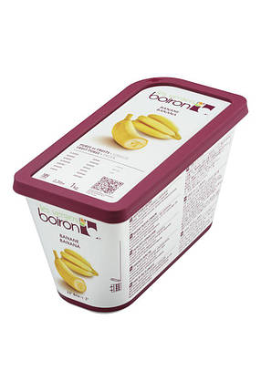Заморожене фруктове пюре Банан Les vergers Boiron, фото 2