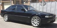 Дефлекторы окон, ветровики \  BMW seria 7,E38 1994-2001 (+OT) sedan \ БМВ 7 серии RACING