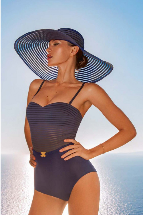 Синяя женская шляпа Marc&Andre HA 19-03