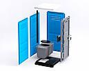 Туалетная кабина Люкс с усиленным пластиком, фото 7