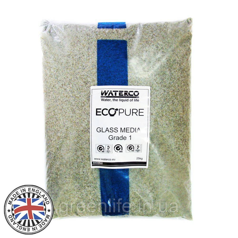 Скляний пісок Waterco 0.5-1 мм (25 кг)