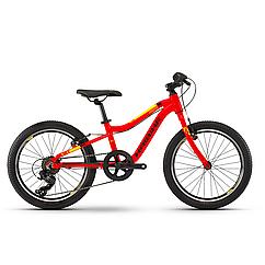 "Велосипед Haibike SEET Greedy 20"" , рама 26 см,красный/черный/желтый,  2020"