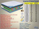 Матрас impress 9 zone cocos 1.6х2.0, фото 2