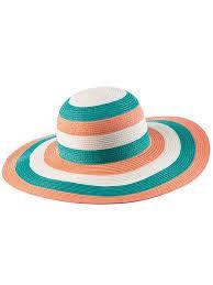 Полосатая женская шляпа Marc & André HA20-01