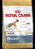 Сухой корм (Роял Канин) Royal Canin Boxer Adult 12 кг для собак породы боксер cтарше 15 месяцев