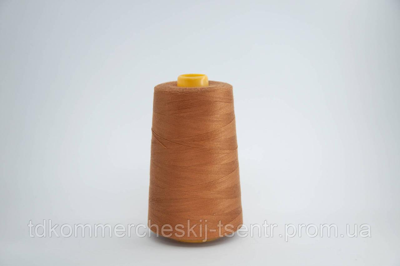 Швейная нить 40/2 (5000 ярдов) цвет 488 светло-коричневый