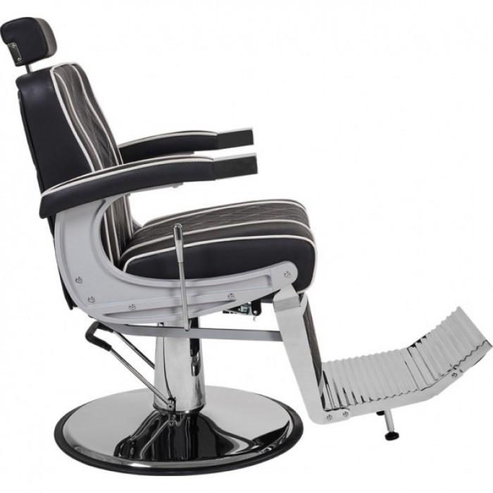 Barber кресло мужское в парикмахерскую,с регулируемой спинкой,подножкой и подголовником: Valencia Lux