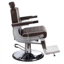 Парикмахерское большое мужское кресло с рычагом управления-Valencia