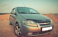 Мухобойка, дефлектор капота Chevrolet Aveo 2003-2006