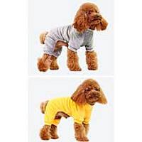 ТМ DOBAZ (Добаз) Royal velour костюм велюровый для собаки, лимон, S.