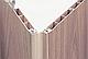 Двери гармошка глухие Орех Мускат Folding, раздвижные двери пластиковые, межкомнатные двери, скрытые, складные, фото 7