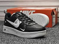 Мужские кроссовки в стиле Nike Air Force 1 Low Utility Black White