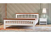 Двоспальне дерев*яне  ліжко 160х200 Лаванда
