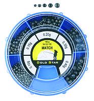 Набор грузил Energofish Gold Star Competition Match 150 г (54132150)