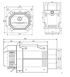 Пеллетная горелка Palnik 300 кВт для твердотопливного котла, фото 5