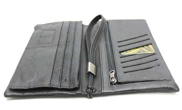 Стильный кожаный клатч, портмоне unisex