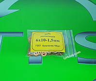 Шайба уплотнительная 6х10-1,5мм (медь)