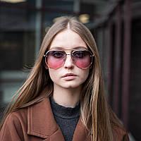 Женские солнцезащитные очки капельки в ярком цвете