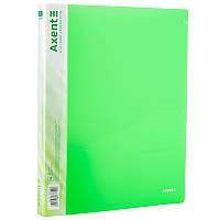Папка на 2-х кільцях, А4 (зелена)