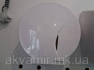 Дозатор для туалетной бумаги Bisk белый
