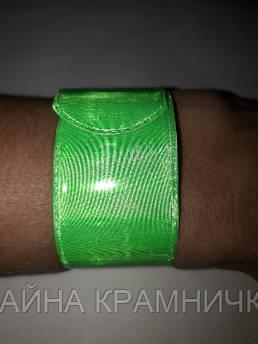 Світловідбиваючий браслет флікер 20 см светоортажающий браслет фликер