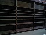 Торговое оборудование из дерева. Стеллажи, витрины, стойки деревянные, фото 6