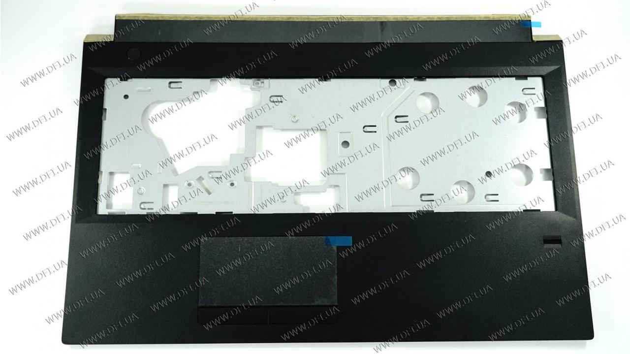 Верхняя крышка для ноутбука LENOVO (B50-30, B50-45, B50-70), black, c разъемом отпечатков пальцев