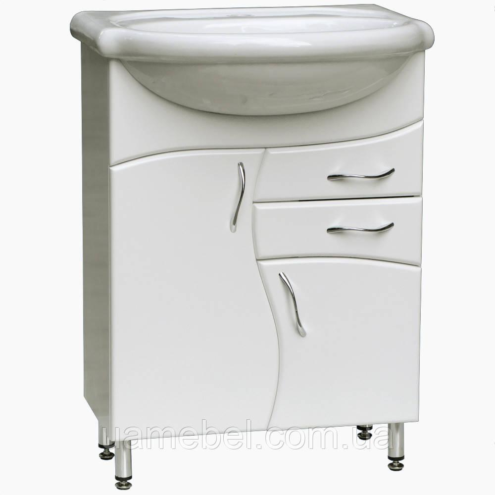 Тумба для ванной Т-7 (под умывальники от 50 до 90 см)