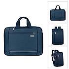 Сумка-рюкзак Moumantu трансформер синий 54348, фото 2